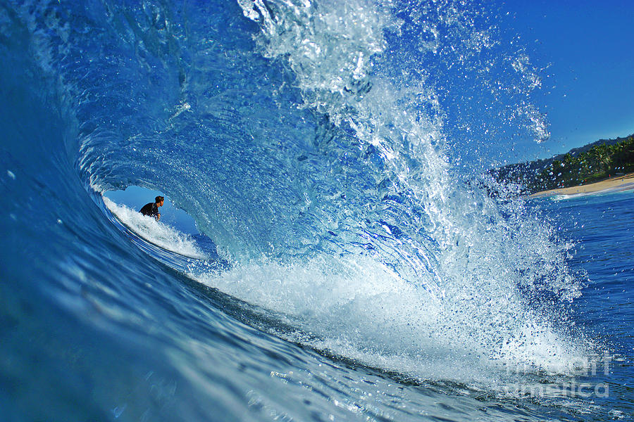 Ocean Photograph - In The Eye by Paul Topp