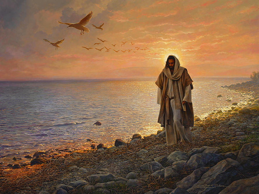 Jesus Painting - In The World Not Of The World by Greg Olsen