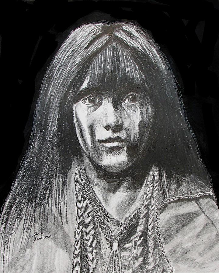 Indian Princess Drawing