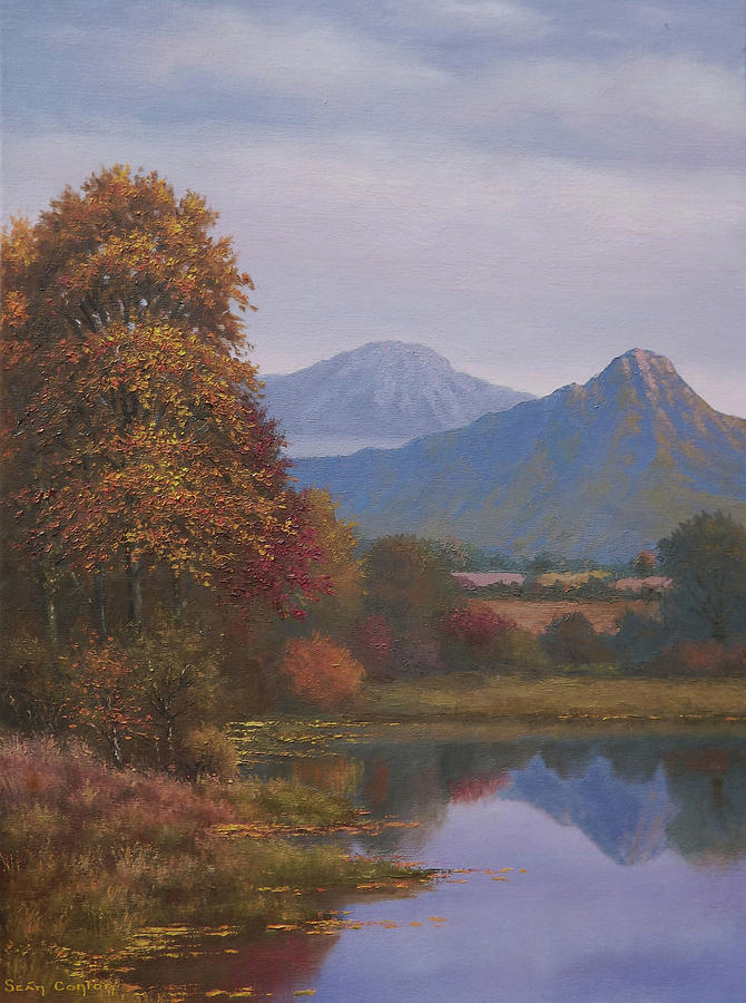 Landscape Painting - Indian Summer Revisited by Sean Conlon