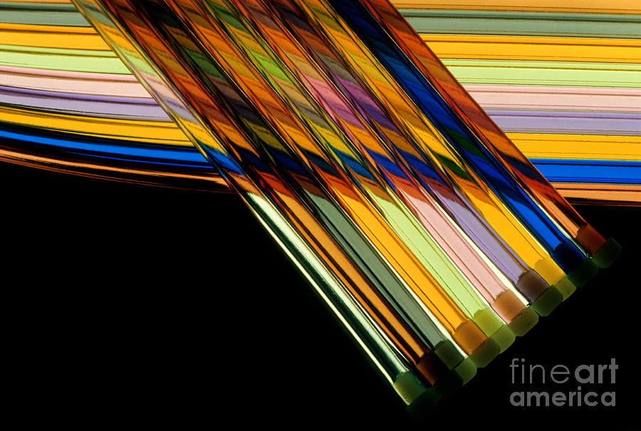 Color Photograph - Industrial Art by Jerry McElroy