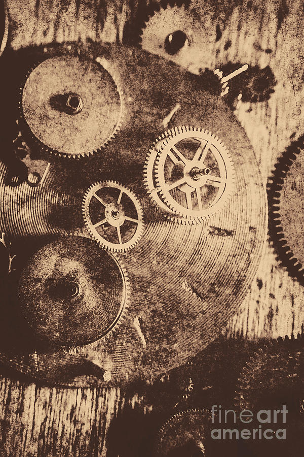 Industrial Gears Photograph