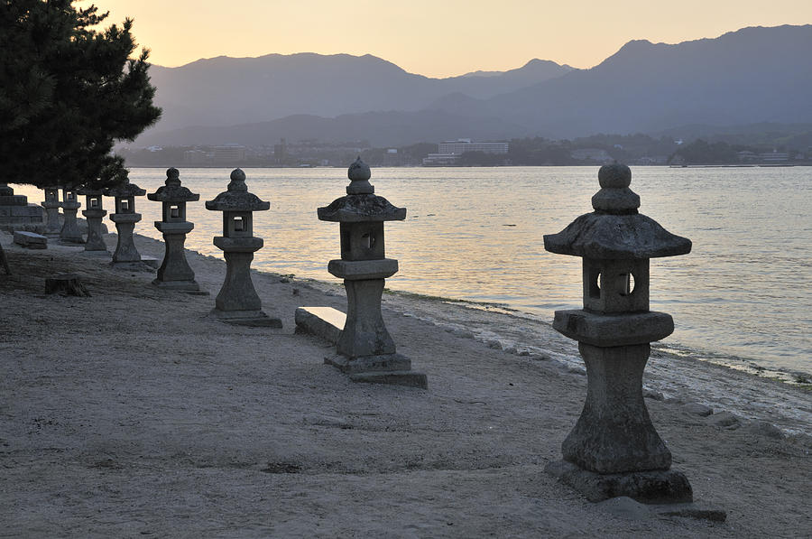 Japan Photograph - Inland Sea Sunset by Andy Smy
