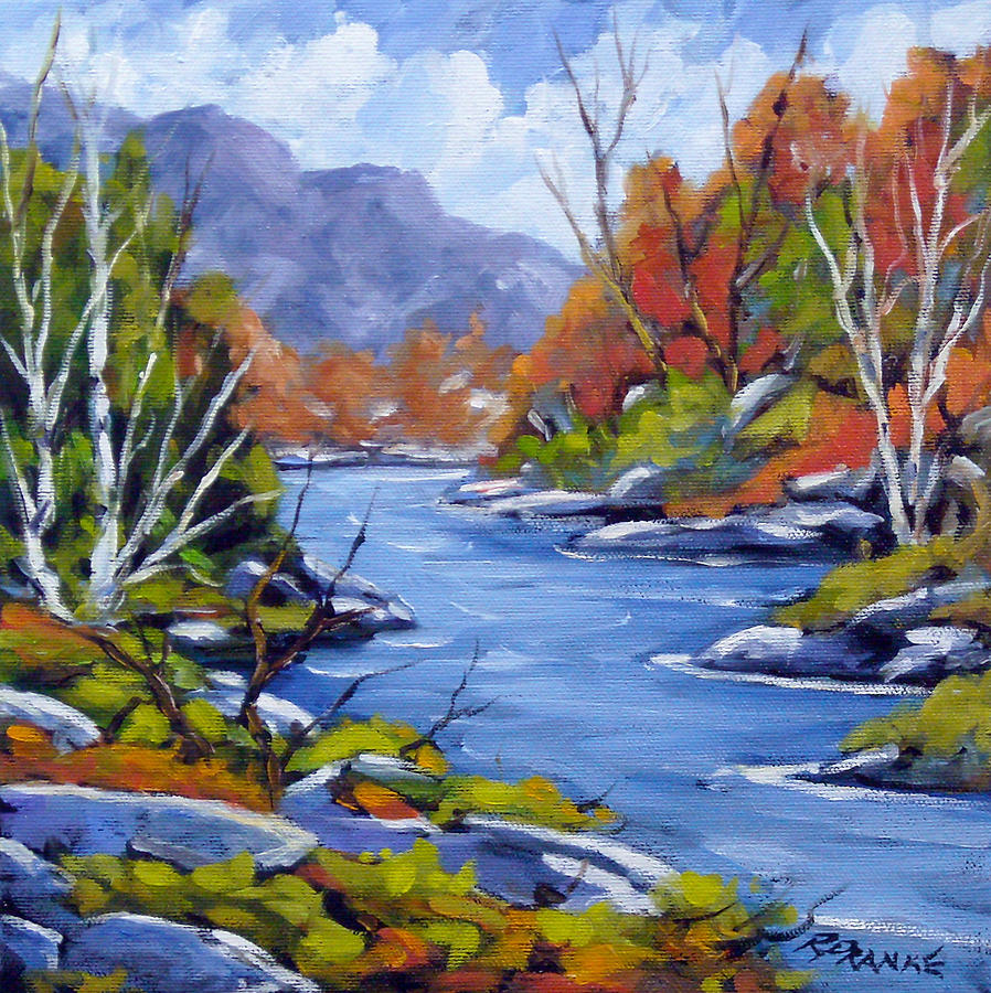 Art Painting - Inland Water by Richard T Pranke