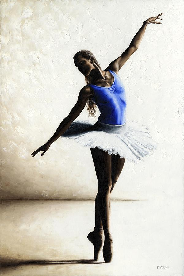 Dancer Painting - Inner Peace by Richard Young