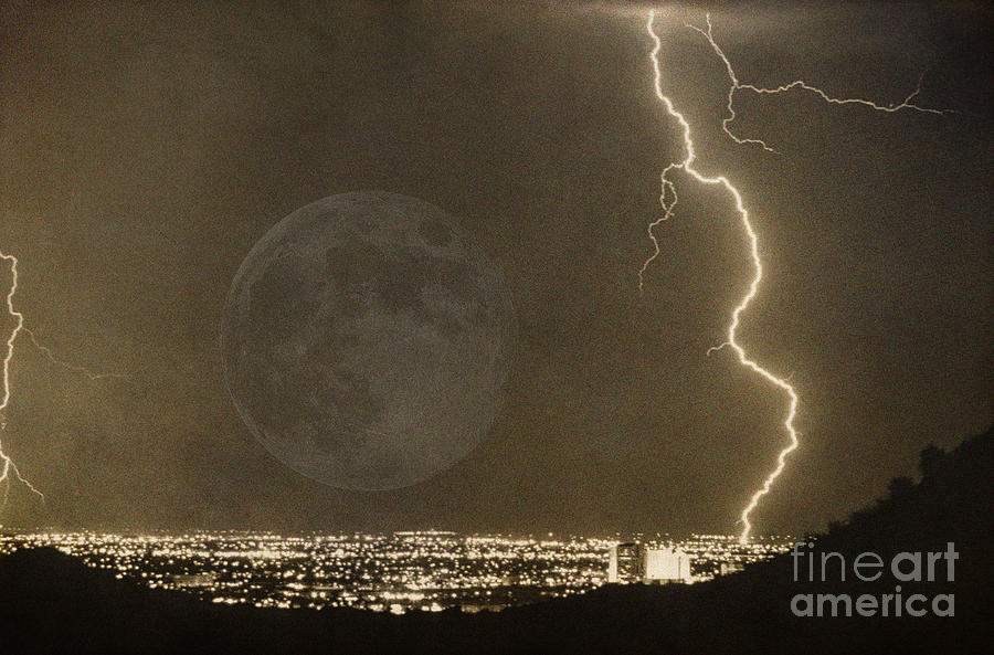 Lightning Photograph - Into The Night by James BO  Insogna