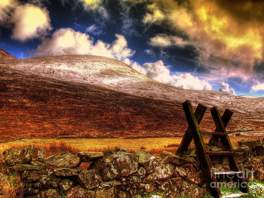 Mourne Photograph - Into The Wild by Kim Shatwell-Irishphotographer