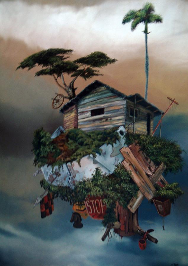 Intranquilidad Flotante Painting