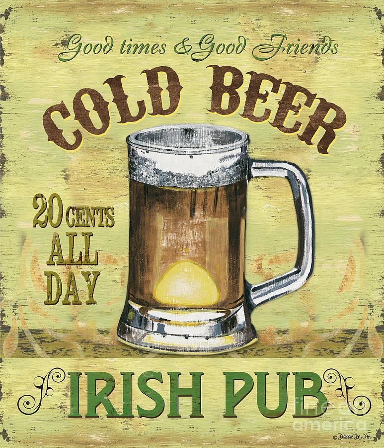 Irish Pub Painting