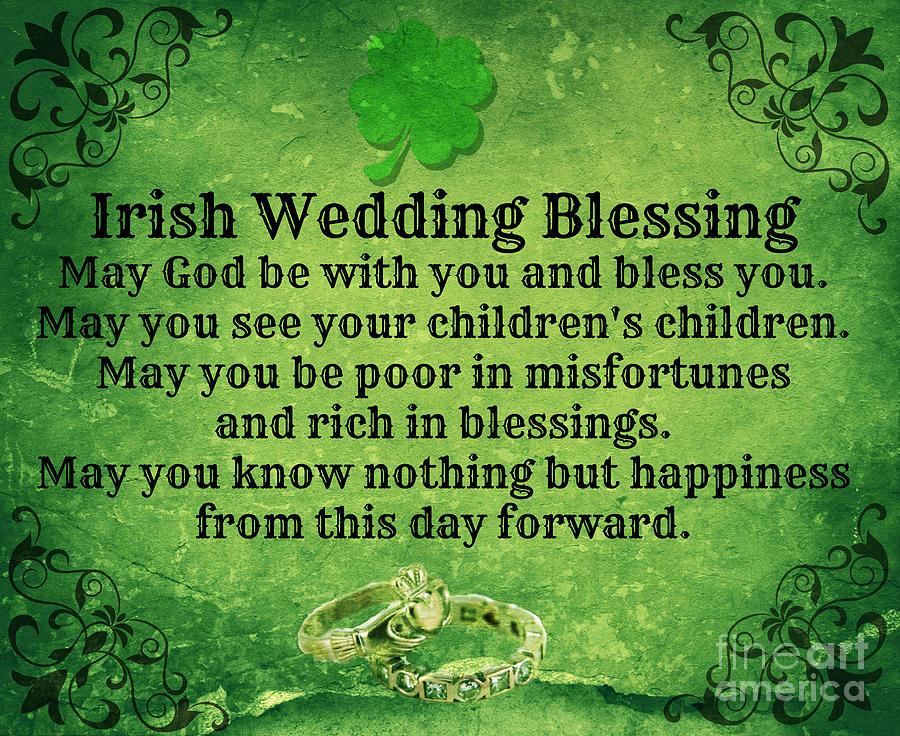 Irish Wedding Blessing Photograph By Mindy Bench