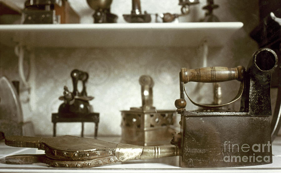 -domestic- Photograph - Iron, 19th Century by Granger