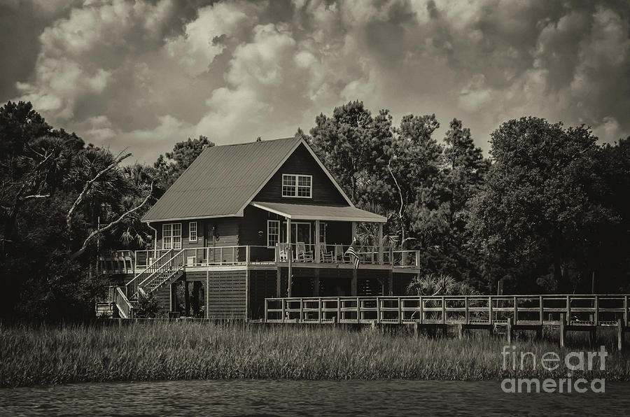 Island Living Along The Icw Photograph