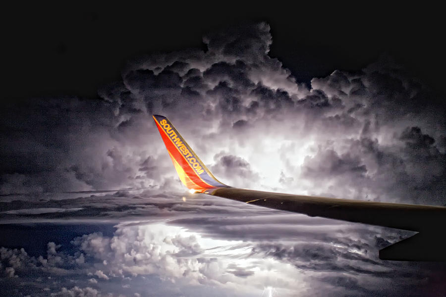 Thunderstorm Photograph - Islip To Tampa by Jim Dohms