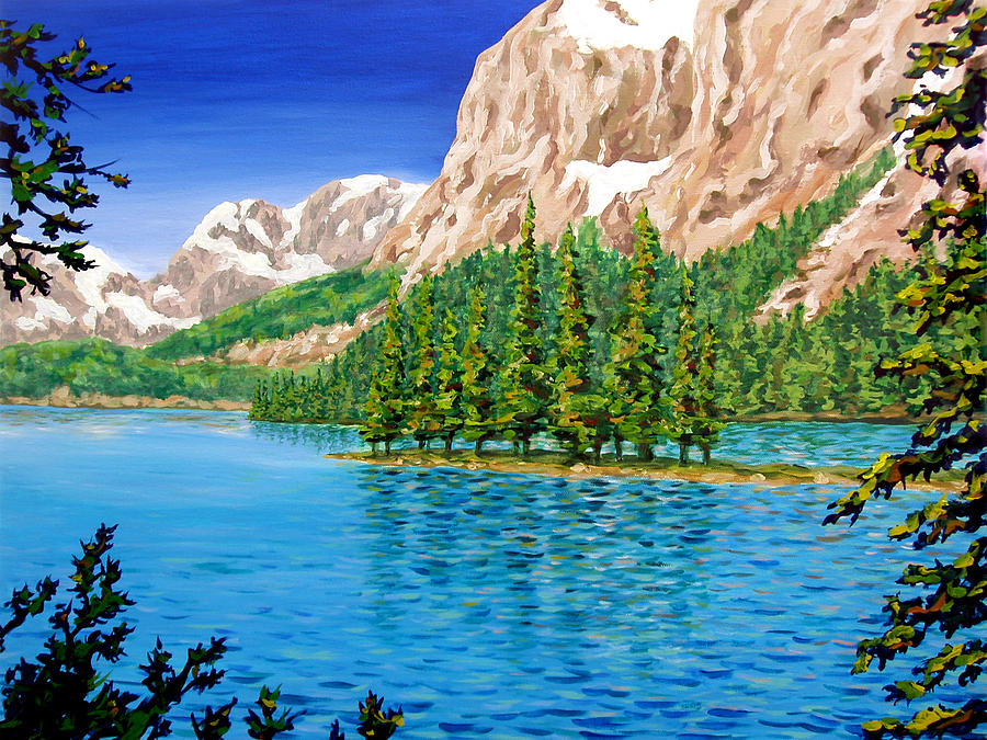 Spirit Island Painting - Isolation by Patrick Parker