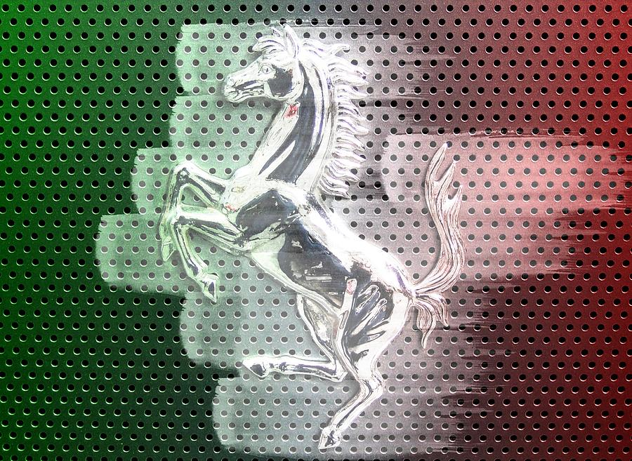 Ferrari Digital Art - Italian Icon by Andrea Barbieri