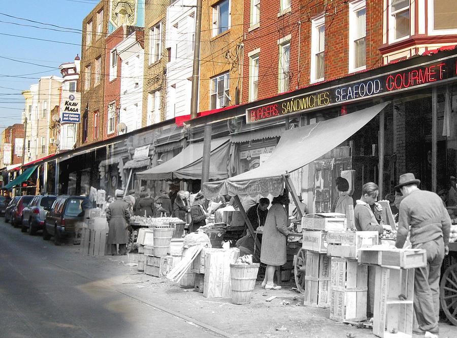 Philadelphia Photograph - Italian Market by Eric Nagy