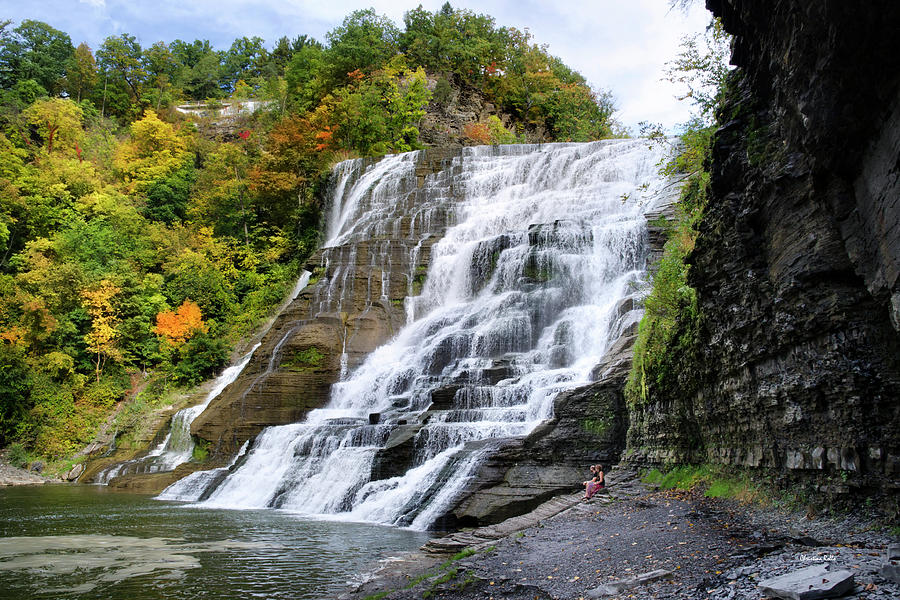 Ithaca Photograph - Ithaca Falls by Christina Rollo