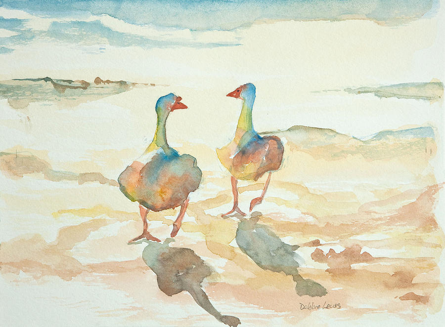 It's A Ducky Day is a painting by Debbie Lewis which was uploaded on ...
