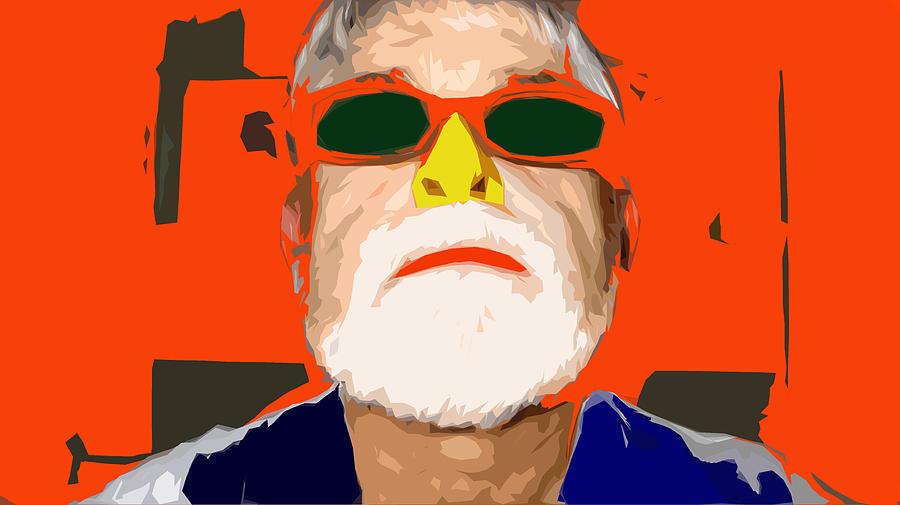 Digital Art Digital Art - Its Just A Nose by Charlie Spear