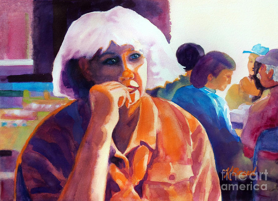 Paintings Painting - Ive Got A Secret by Kathy Braud