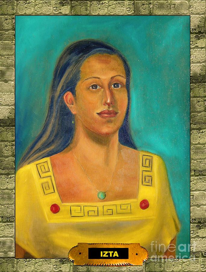 Izta Painting - Izta Illustration by Lilibeth Andre