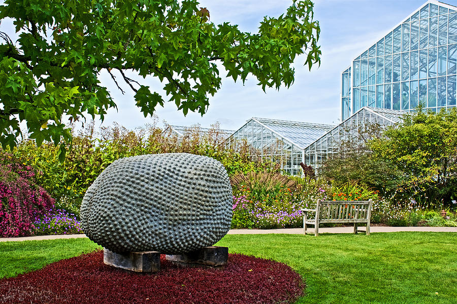 Jackfruit sculpture at frederik meijer gardens and Frederik meijer gardens