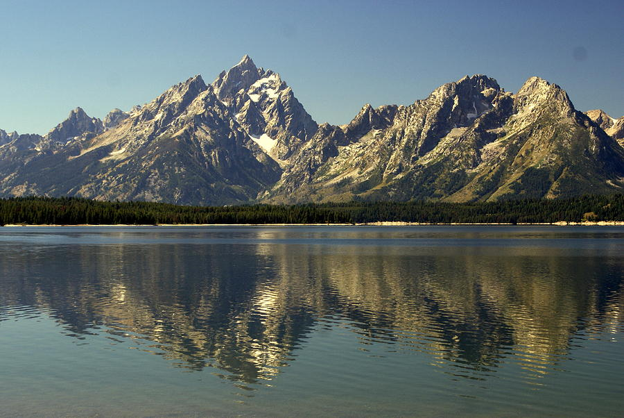 Grand Teton National Park Photograph - Jackson Lake 2 by Marty Koch