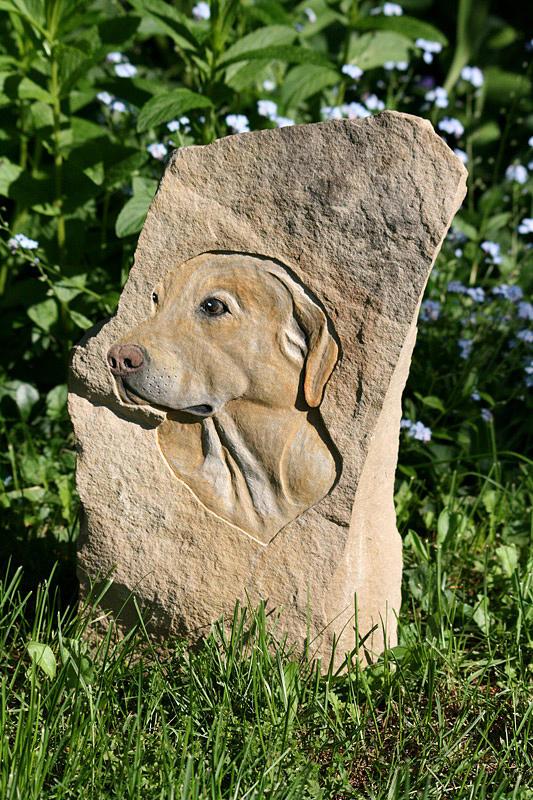 Limestone Sculpture - Jake by Ken Hall
