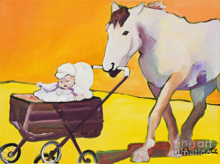 Animal Painting - Jake by Pat Saunders-White