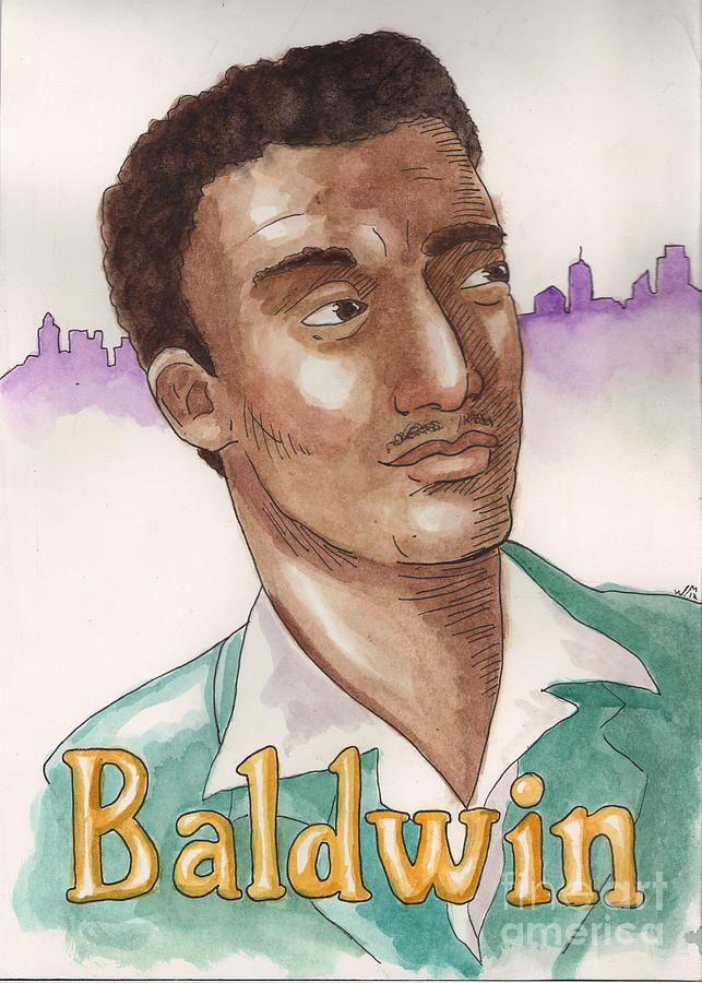 James Baldwin Painting - James Baldwin by Whitney Morton