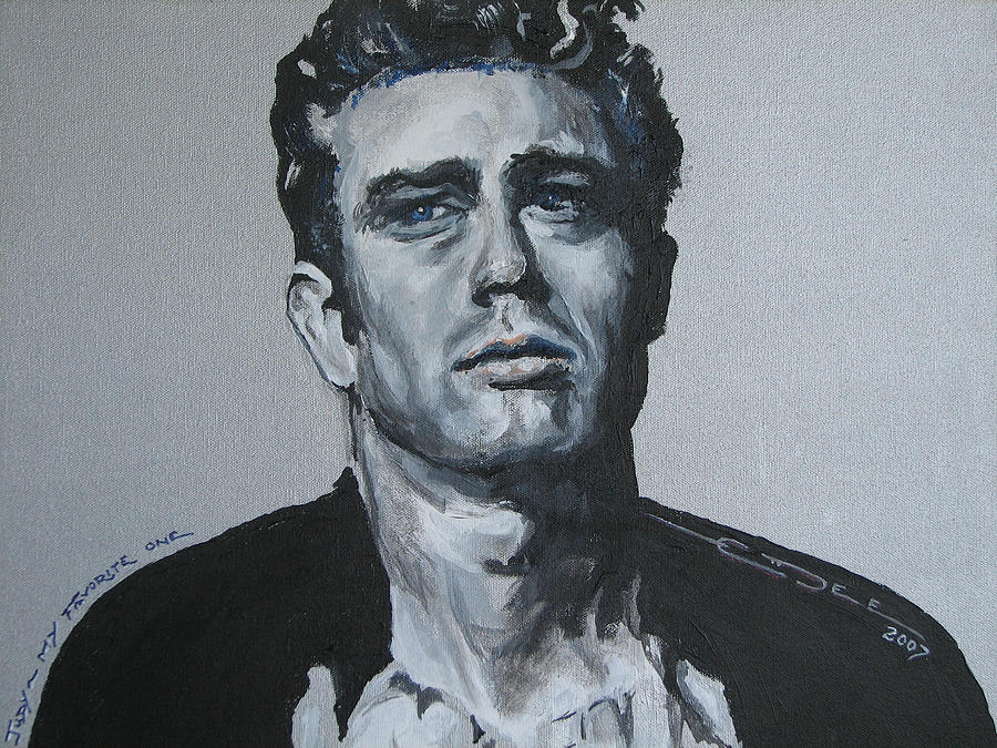 James Dean Painting - James Dean One by Eric Dee