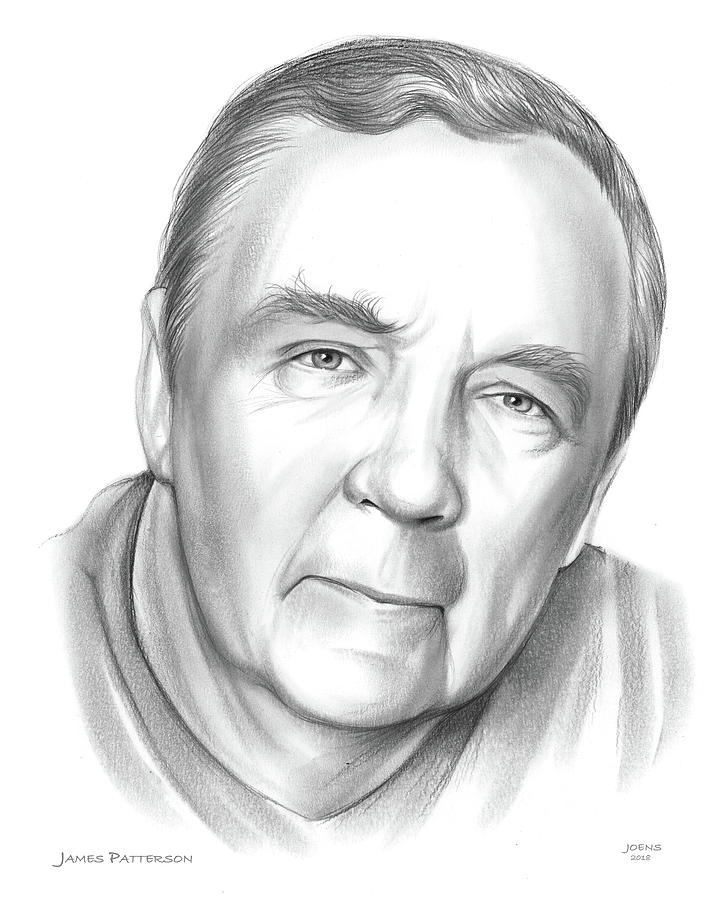 James Patterson Drawing