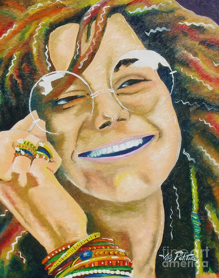 Janis Joplin Painting - Janis Joplin  by Joseph Palotas