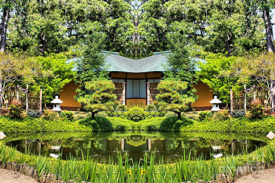 Japanese Garden At Hermann Park Houston Texas Photograph By Cynthia Broomfield
