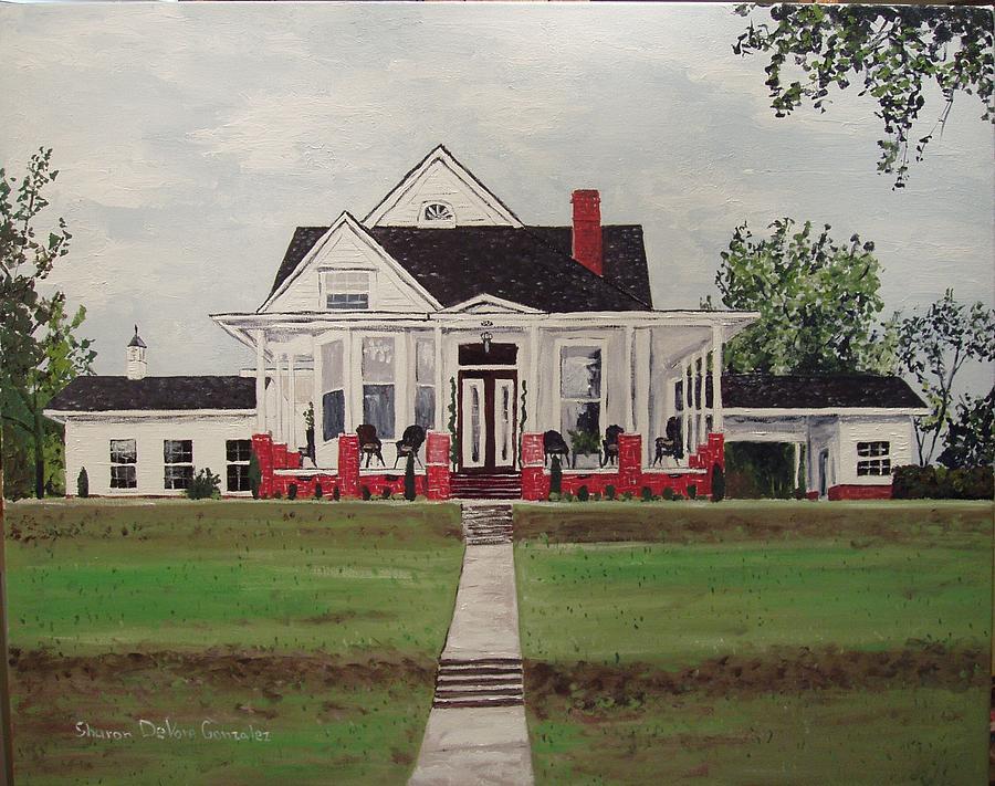 Architectural Painting - Jarrard House by Sharon  De Vore