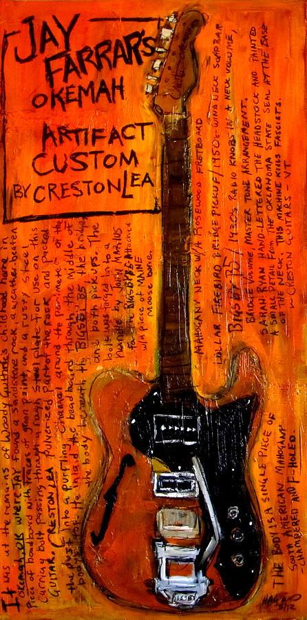 Jay Farrars Okemah Artifact Custom Painting