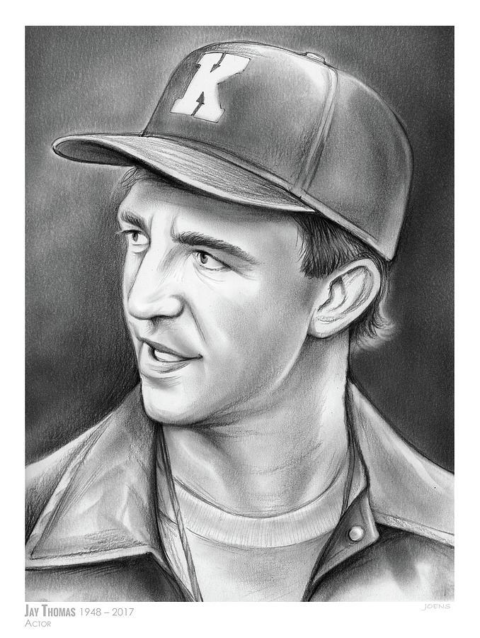 Jay Thomas Drawing