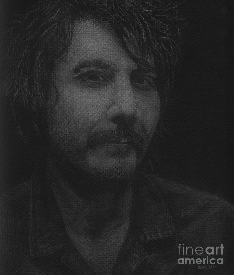 Jeff Tweedy Drawing - Jeff Tweedy by Dan Lockaby
