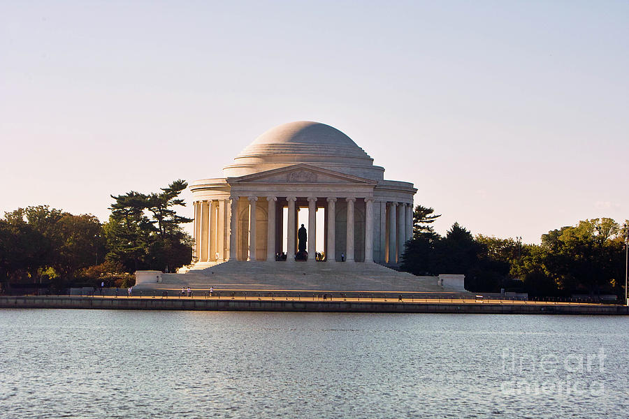 Jefferson Memorial At Dawn Washington Dc Photograph