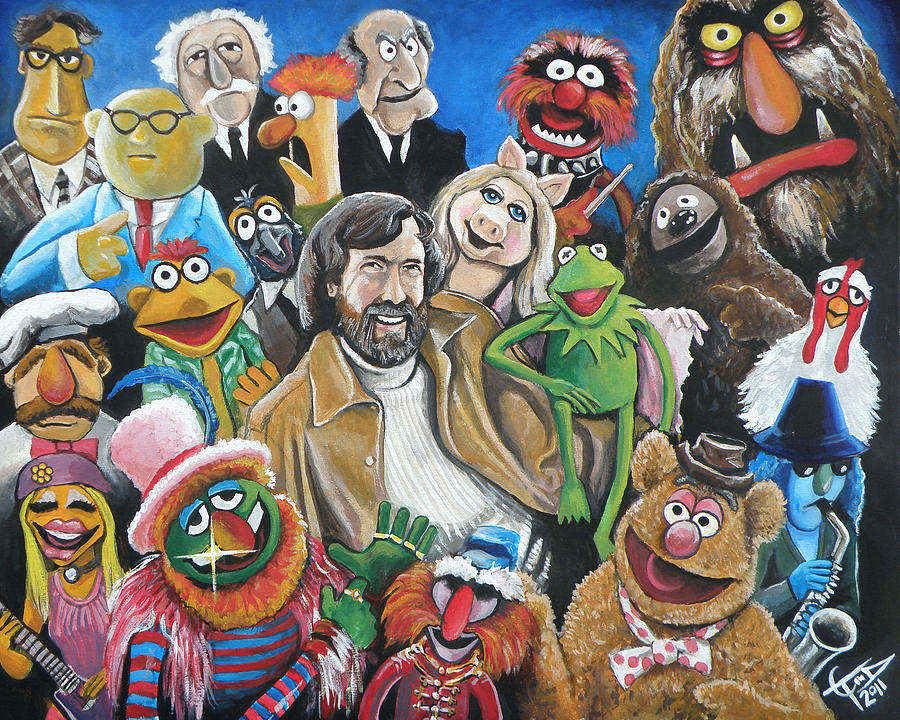 Jim Henson And Co. Painting