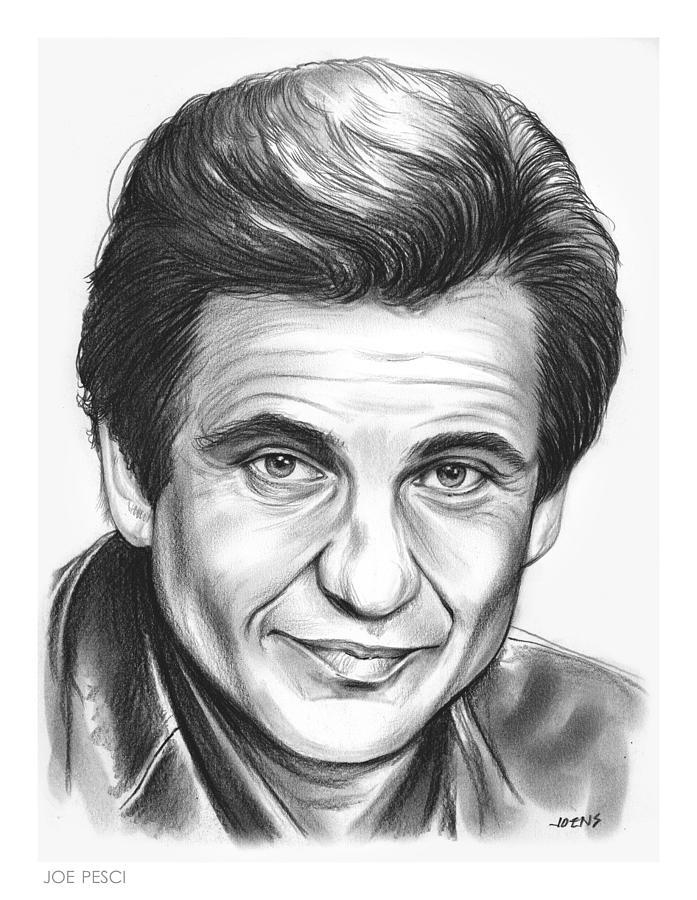 Joe Pesci Drawing