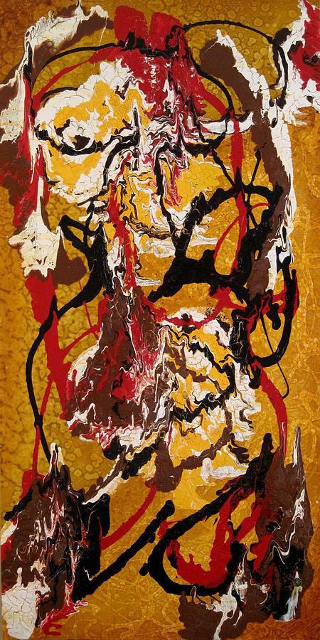 Abstract Art Painting - Joe Sweet by Jill English