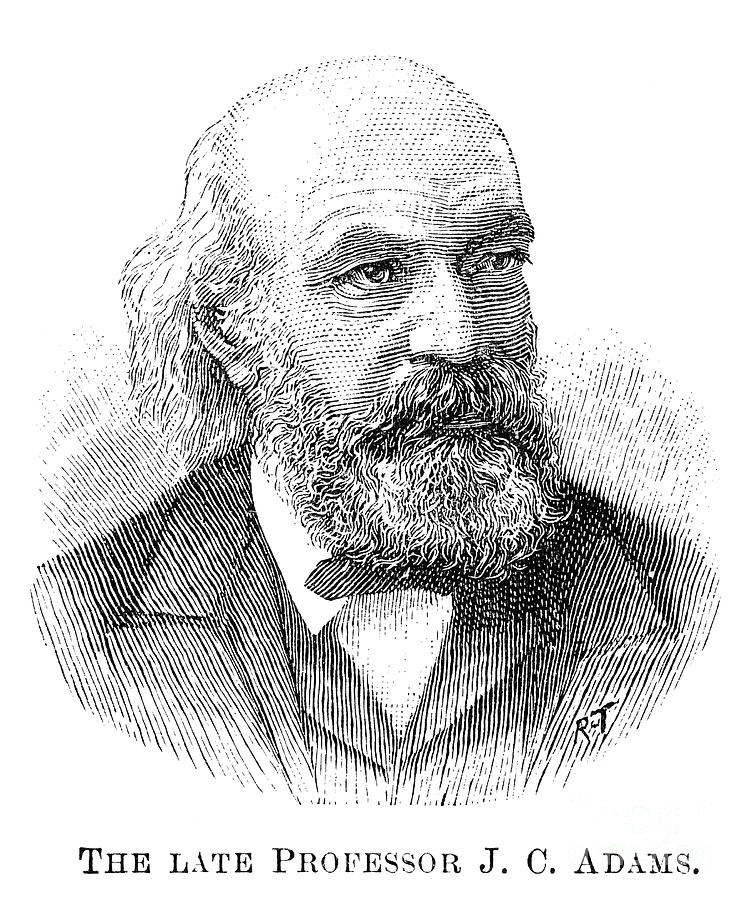 John Couch Adams (1819-1892) Photograph