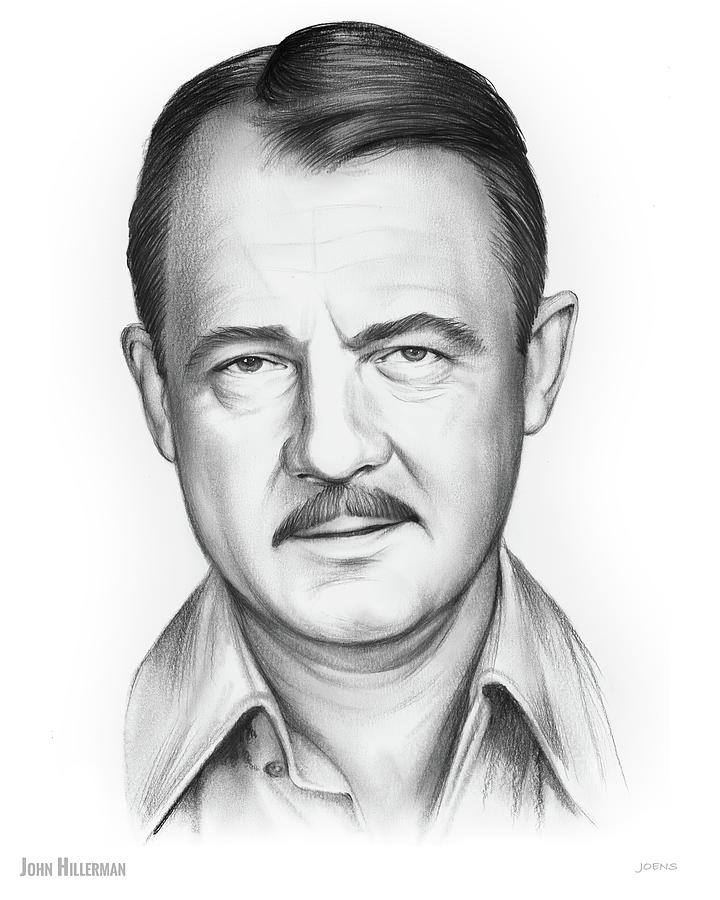 John Hillerman Drawing