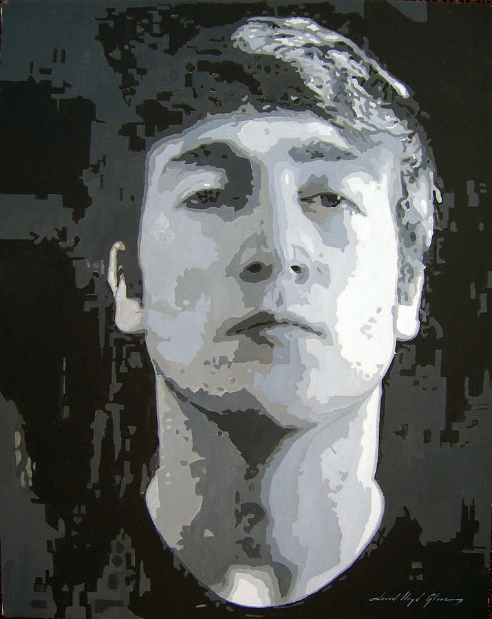 John Lennon Art Painting - John Lennon - Birth Of The Beatles by David Lloyd Glover