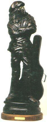 Visionary Sculpture - John Lennon by Larkin Chollar