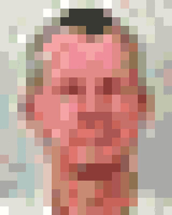 Example Pixelface 2 Digital Art