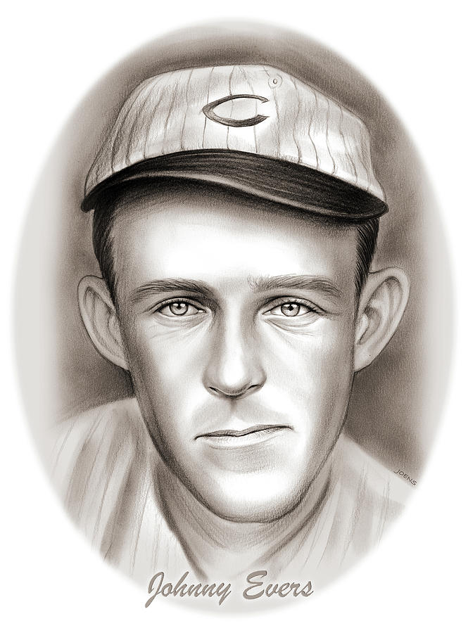 Johnny Evers Drawing