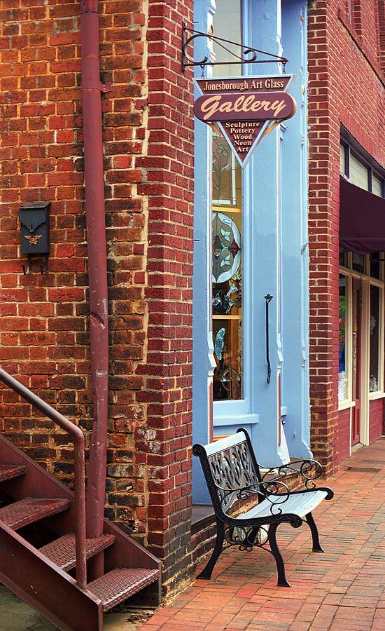 America Photograph - Jonesborough Tennessee Main Street by Frank Romeo