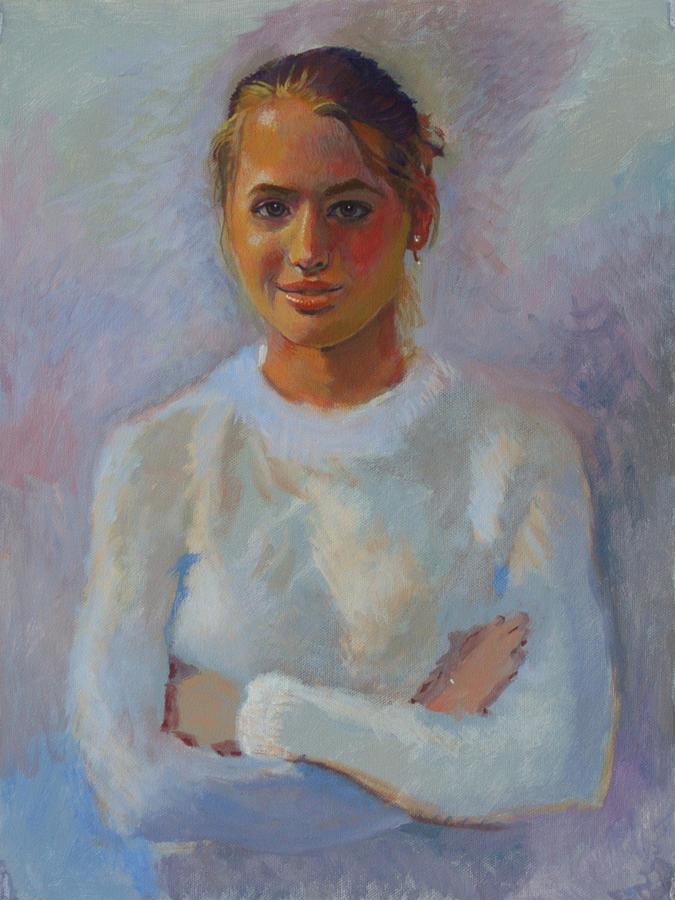 Bonners Painting - Jordan Dennis - Junior Miss 2005 by Robert Bissett